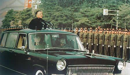 1984年国庆35周年阅兵